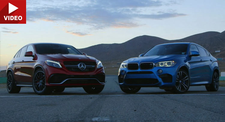 Mercedes Amg Gle 63 S Coupe Head Butts Bmw S X6 M For The