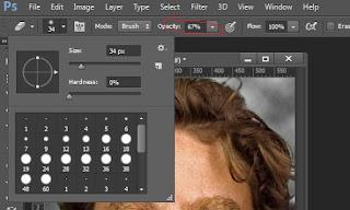 Tutorials on photoshop Melakukan Seleksi Bagian Rambut Dengan Rapi