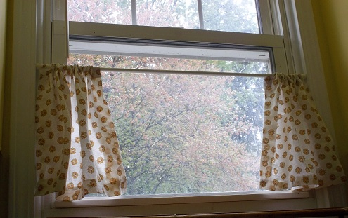 Easy to sew kitchen curtains the thriftiness miss easy no sew kitchen