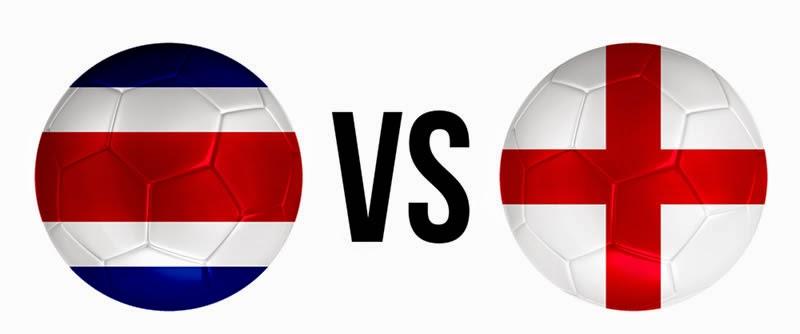 Costa Rica 0 - 0 Inglaterra (eliminada)