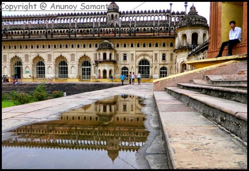 Lucknow Bara Imambara on a Rainy Day
