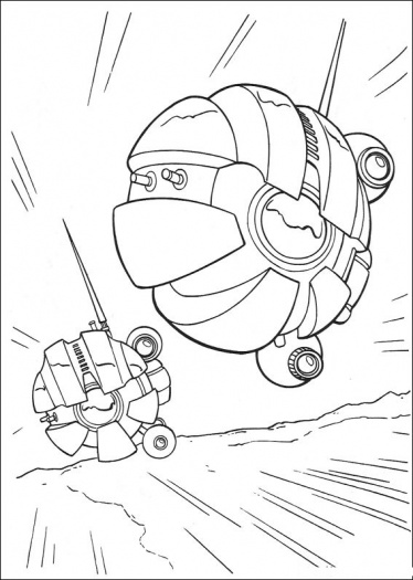 Kids Under 7: Star Wars Coloring Pages