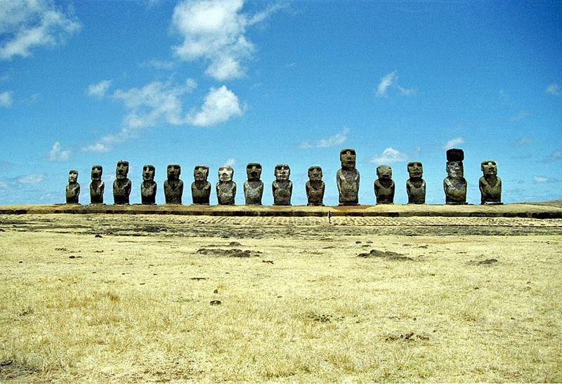 Ahu Tongariki - Easter Island.