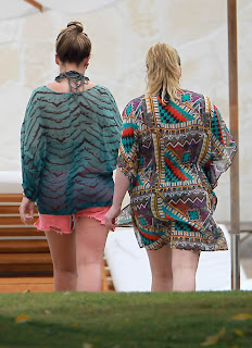 Hilary & Haylie Duff  gained a few pounds
