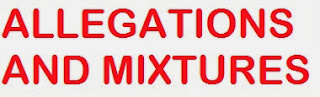 allegations and mixtures tricks basics problems with solution and example- MeriView.in