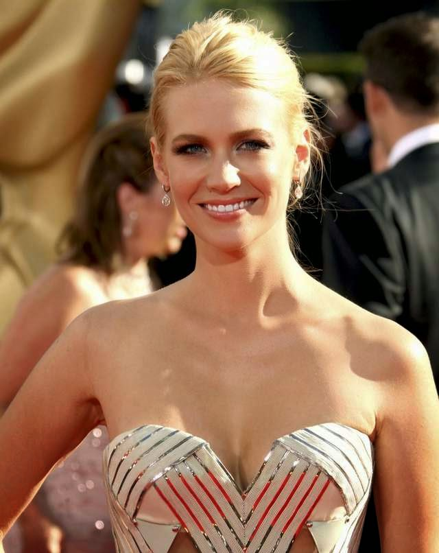 January Jones: La rubia de la serie Mad Men