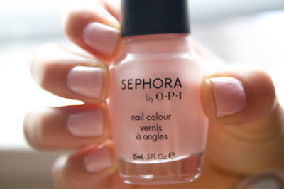 sephora by opi dear diary ... nail polish 