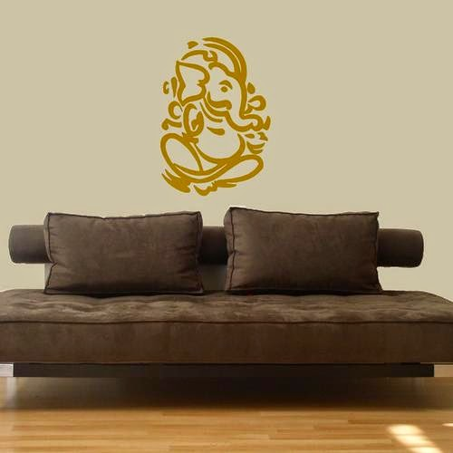interior design using Ganesh symbols