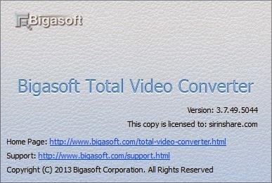 CRACK Bigasoft Total Video Converter 3.7.49.5044 [BUZZccd]
