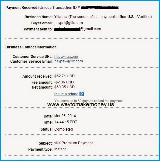 Make Money, Yllix.com Review,Payment Proof.yllix,adsense alternative