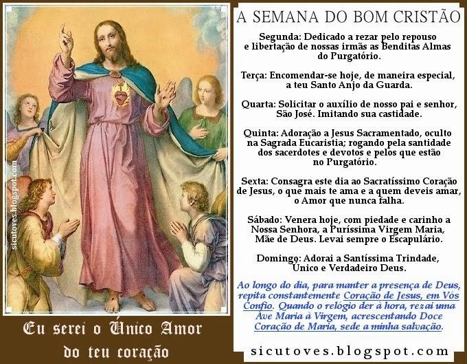 A SEMANA DO BOM CRISTÃO
