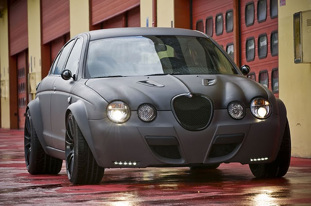 Jaguar S-Type Tuning by Panzani design