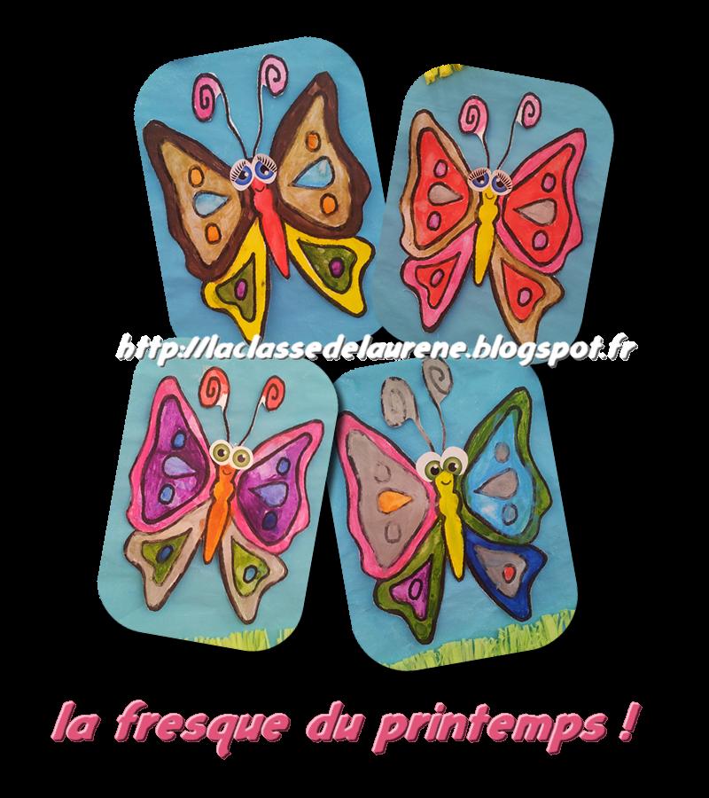 La Maternelle De Laurène La Fresque Du Printemps