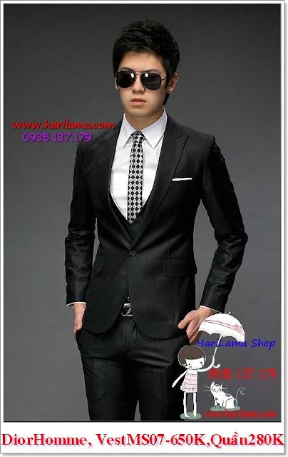 Áo vest nam thời trang Hàn Quốc form đẹp, dáng chuẩn, giá siêu tốt cho 1 bộ quần áo đẹp