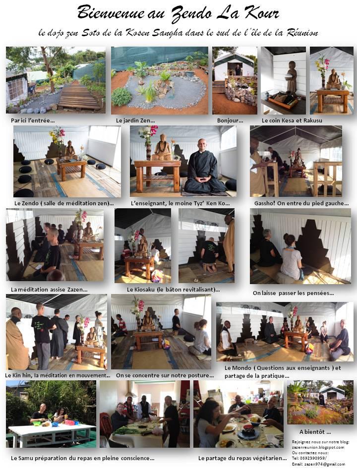 Le dojo zen de la Kosen Sangha dans le sud de l'île de la Réunion