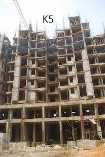 Amrapali Golf Homes :: Construction Status