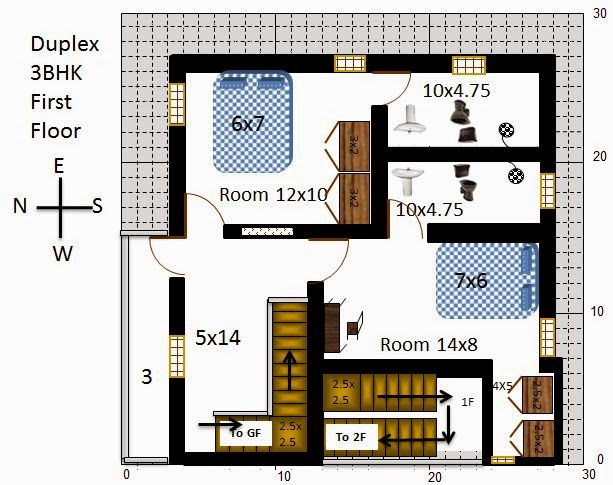 Exciting 30x30 House Plans India Ideas house design