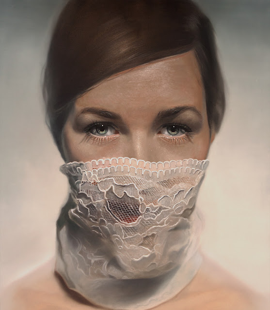 Mike Dargas hyper realistic paintings