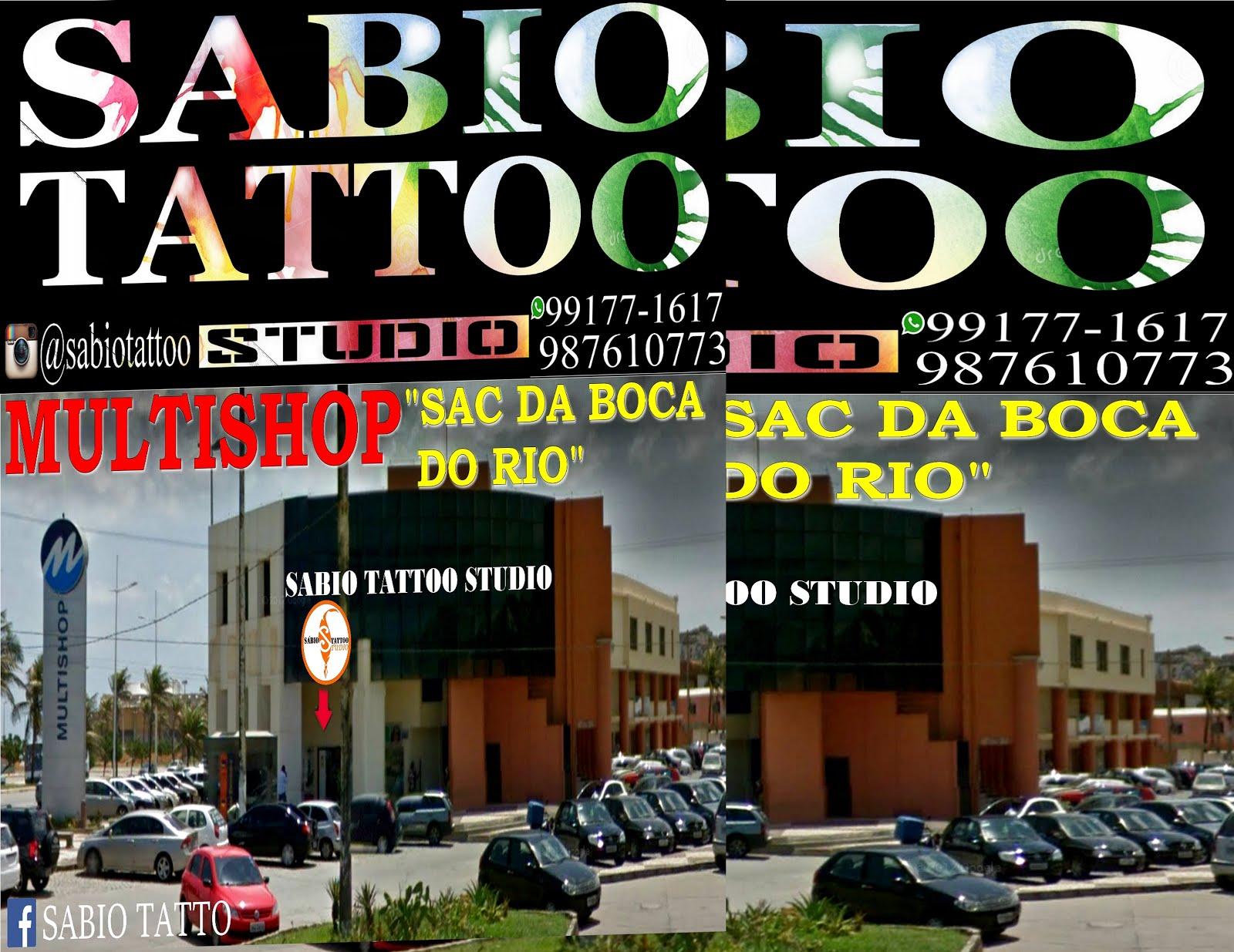 """ SÁBIO TATTOO  ""  Tatuagem profissional"