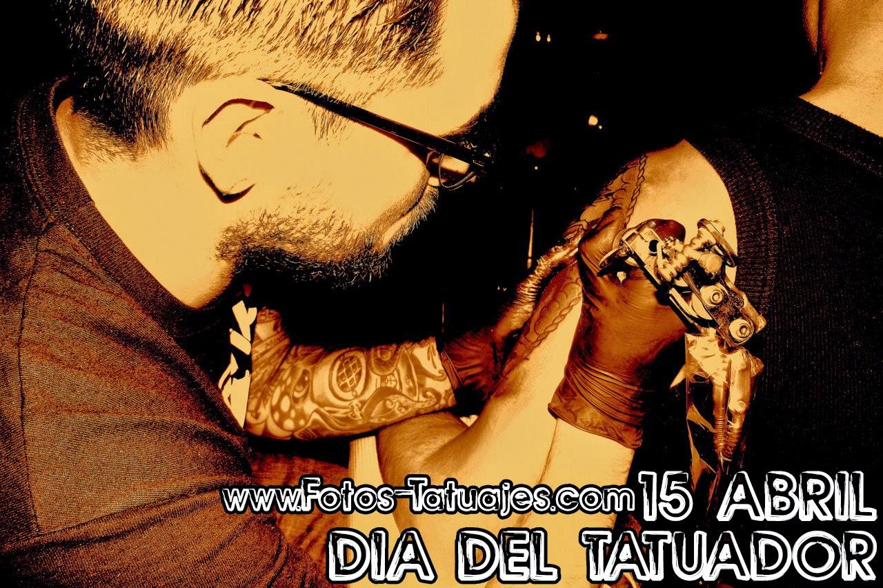 Dia del tatuador 15 abril