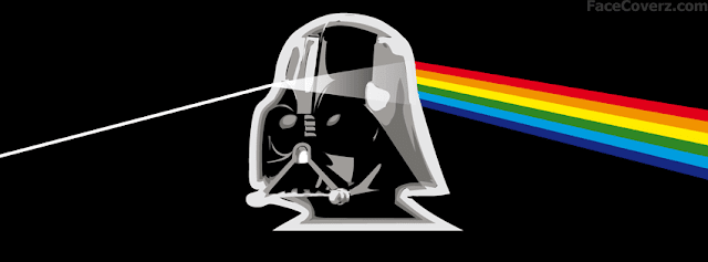 facebook timeline cover darth vader side of the moon