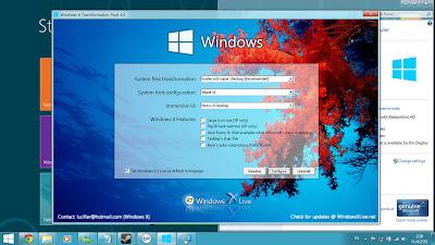 Merbuah Tampilan Windows XP Menjadi Windows 8