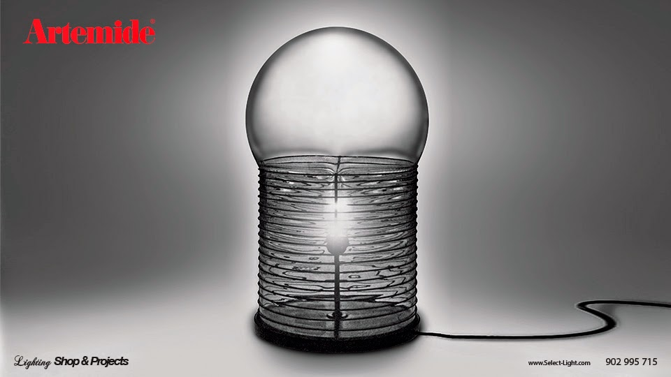 Artemide design lamp
