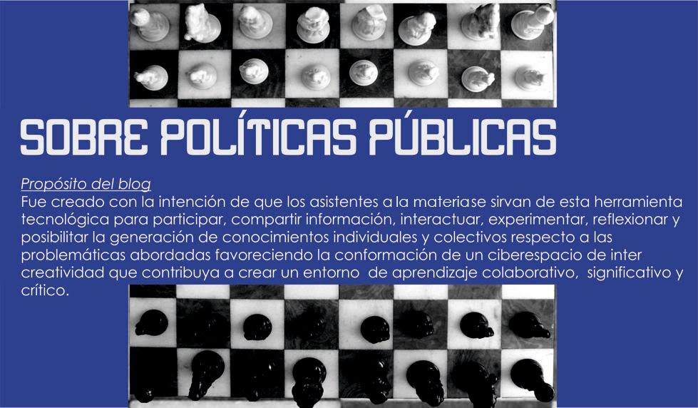 Materia: Gobierno y Polìticas Pùblica