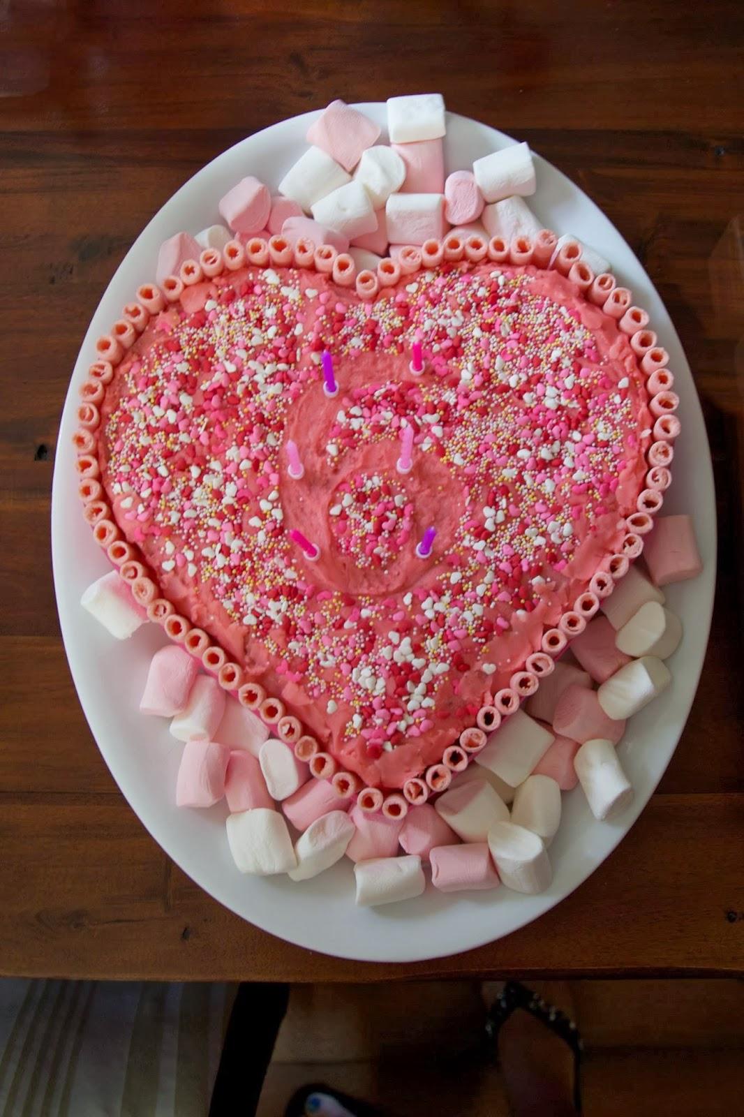 Heart Shape Bday Cake Images : Wild Yeast and Sugar Pie: Heart Shaped Birthday Cake
