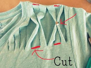 Reciclatex Cómo customizar una camiseta con tachuelas