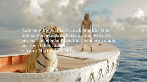 Life of Pi Theme Quotes