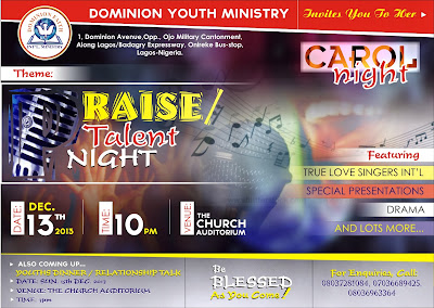 dominion faith youth ministry