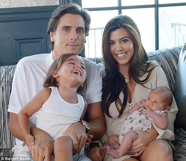 Kourtney Kardashian And Scott Disick Family