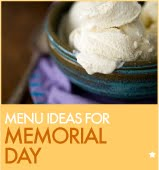 Menu ideas for Memorial Day