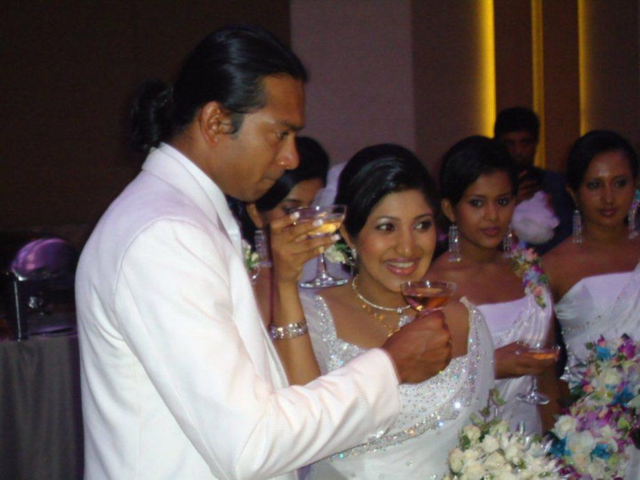 Malini fonseka wedding