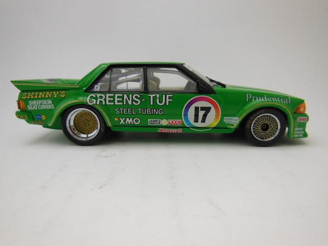 Motorsport Modeller Dick Johnsons Greens
