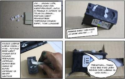 Cara Memasang Infus Printer  2