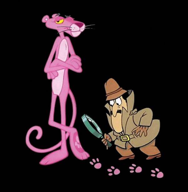 dibujos animados de la pantera rosa: