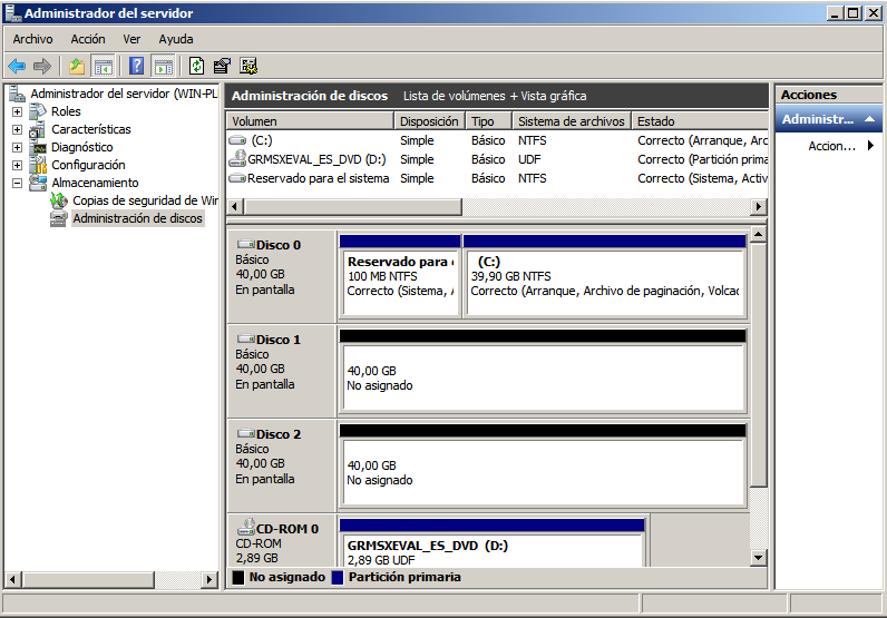 Administra sistema operativos