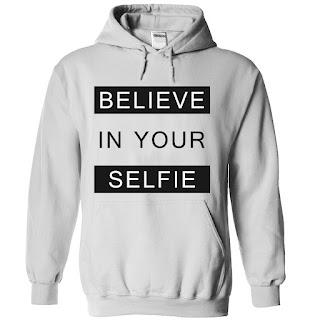 hoodie selfie