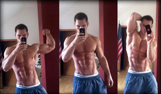 alon gabbay crazy ripped six pack
