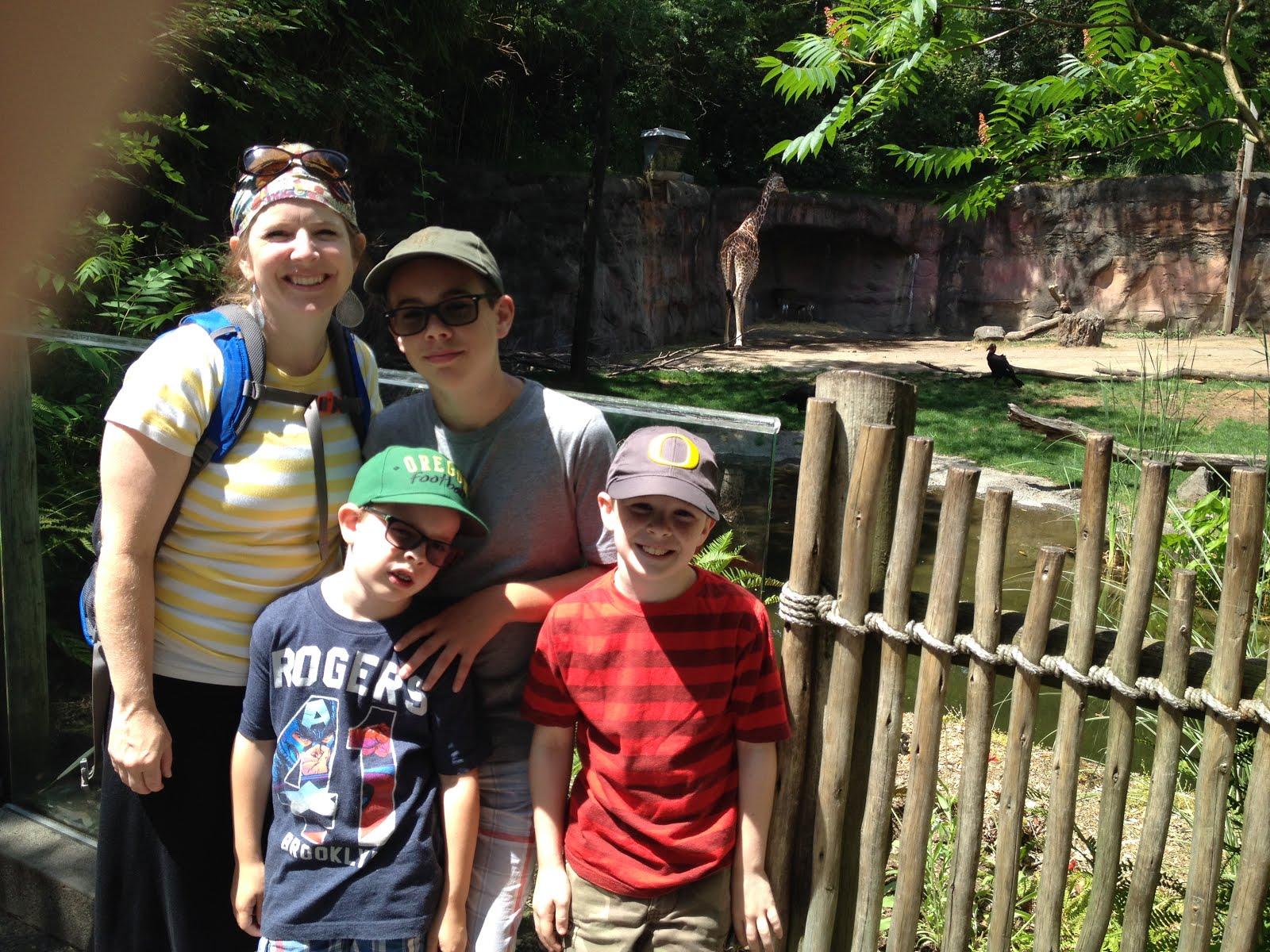 Portland Zoo Summer 2015