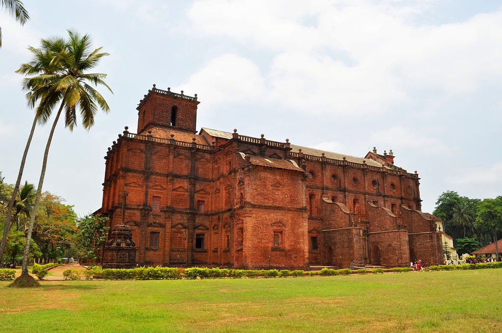 Basilica of Bom Jesus - Basilica of Bom Jesus - UNESCO World heritage site - Goa India