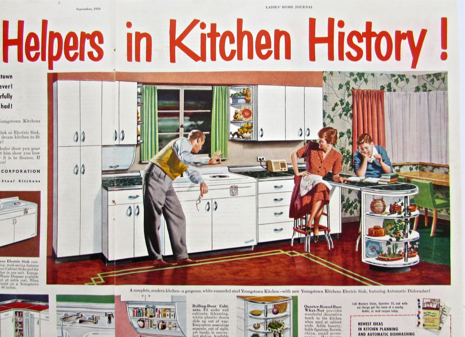 Best Retro Kitchen Finds On Etsy   Atomic Age Decor