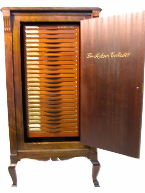Kendrick Harrison Furniture pany Aetna Record Cabinet