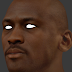NBA 2K14 Michael Jordan HD Face Texture