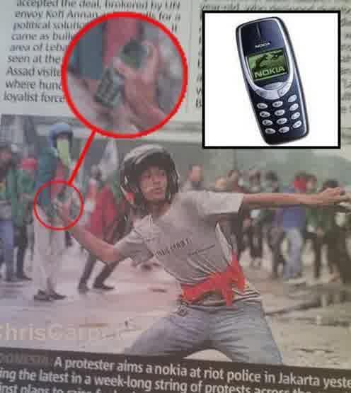 handphone tahan banting