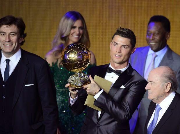 Cristiano Ronaldo Bola de ouro/temporada 2013
