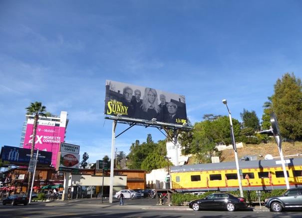 Always Sunny in Philadelphia season 11 billboard