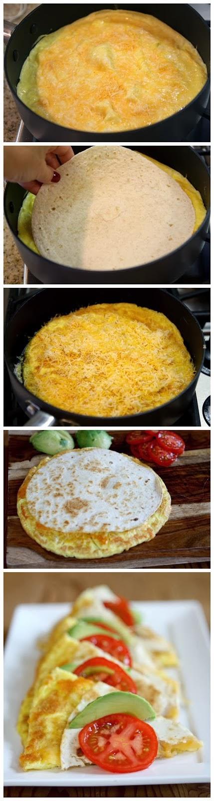 #Recipe : breakfast quesadillas